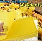 30 Sheets Honeycomb Beeswax Candlemaking Bee Wax Candle Crafts Fast Shipping
