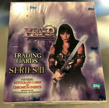 XENA Series 2 Sealed Box Trading Cards by TOPPS - Sealed