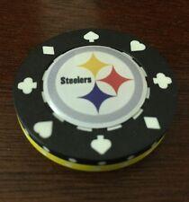 Steelers POKER Weight CHIP CARD GUARD WSOP, Texas Holdem, Poker Chips
