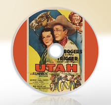 Utah (1945) DVD Classic Western Film / Movie Roy Rogers George Hayes