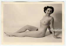#923 ROESSLER AKTFOTO / NUDE WOMAN STUDY * Vintage 1950s Studio Photo - no PC !