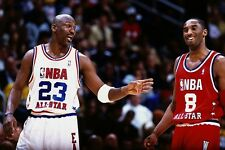 Michael Jordan & Kobe Bryant - All Star Game - NBA Basketball Poster