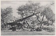 D3689 Il vecchio cannone italiano da 149 - Stampa d'epoca - 1940 vintage print