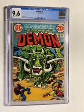 Demon 3 cgc 9.6 ow/w Dc Comics Jack Kirby 1972 003