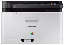 Samsung Xpress SL-C480W Farb-Laserdrucker Multifunktionsgerät USB/WLAN 2400x600