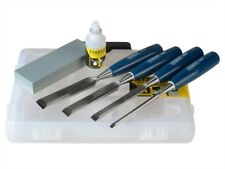 Stanley 5002 bordi smussati legno set scalpelli 4 pezzi &
