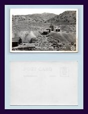 NEVADA SILVER CITY CLOSED MINE FRASHER REAL PHOTO POSTCARD EKC BACK CIRCA 1945
