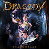 DRAGONY - Shadowplay CD 2015 feat. Zak Stevens (Savatage, TSO) Power Metal