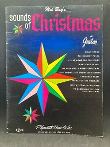PLYMOUTH Mel Bay's Sounds of Christmas for Guitar, Lyrics Holiday Music
