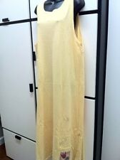 Blue Fish SIZE 0 YELLOW Cotton Round Neck Maxi Jumper