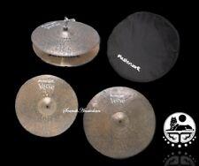 Masterwork Cymbals Verve Cymbal Pack Box Set (14HH-16CRS-20R+Bag)