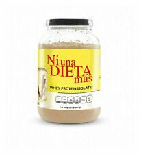 NI UNA DIETA MAS - Whey Protein Isolate (Delicious Chocolate) No Sugar/Lactose