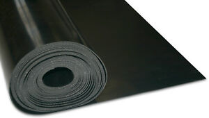 RUBBER SHEET 1PLY REINFORCED INSERTION VARIOUS THICKNESSES & SIZES AVAILABLE