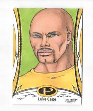 2014 MARVEL PREMIER LUKE CAGE SKETCH BASE CARD #32 RHIANNON OWENS 1/1