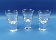 3 x LSA International Handmade Vodka Shot Glasses - New & Unused