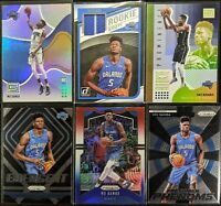 Lot of (6) Mo Bamba, Including Donruss Jersey RC, Status Purple RC & RC inserts