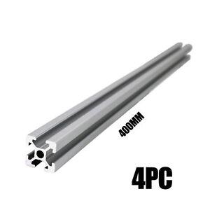 HFS(R) 4pc 2020 CNC 3D Printer Parts EU Standard Aluminum Profile 400mm