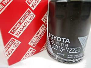 TOYOTA OIL FILTER 90915YZZE2 AVALON CAMRY CELICA HILUX RAV4 NEW GENUINE