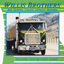 WILLIS BROTHERS-CD - 24 Great TRUCK Drivin 'CANZONI