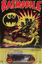 """Hot Wheels CUSTOM BONE SHAKER """"Batmobile"""" Real Riders LTD 1/25!"""