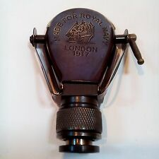 Vintage Brass Antique Pocket Nautical Monocular Telescope Pirate Spyglass