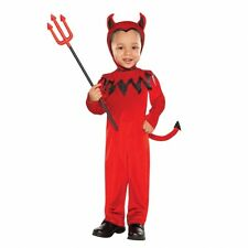 Toddler Devil Costume Age 3 - 4 Yrs Halloween Fancy Dress R4