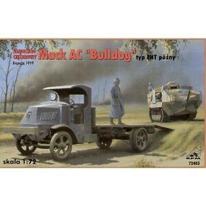 """RPM 72403 1/72 MACK AC """"Bulldog"""" Truck type EHT - late Plastic Model Kit"""