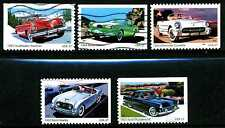 Sports Cars Of The 1950's Scott #3931-3935 Complete Postally Used Set