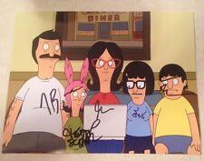 BOB'S BURGERS Complete Cast Signed 11x14 X5 Schaal,Roberts,Mirman,Benjamin,Mintz