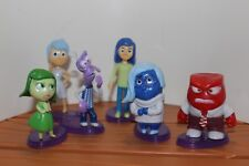 6Pcs Inside Out Joy Fear Anger Disgust Riley Action Figures