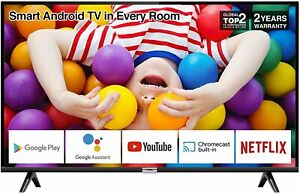 TCL 32P500K 32-Inch LED Smart Android TV HD HDR Micro Dimming Netflix YouTube