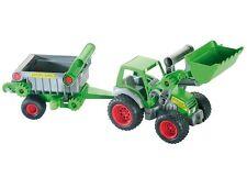 Wader Farmer Technic Traktor mit Frontschaufel und Kippanhänger