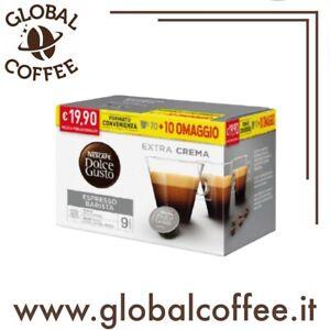 240 Capsule Caffè Espresso BARISTA Sistema DOLCE GUSTO Originali 210 + 30 Omaggi