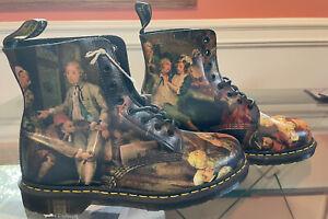 Dr. Martens Boots 8 Eye Pascal US Size 12 D'antonio Renaissance Museum Rare New