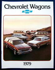 Prospekt brochure 1979 Chevrolet Chevy Wagons  (USA)