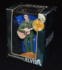 "Elvis Collectible Christmas Ornament ""Serving the Country"" MIB Trevco 2004"
