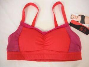 Spanx By Sara Blakely Size S Small Red Sports Bra New Womens Bras