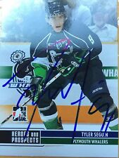 Autographed Tyler Seguin Plymouth Whalers Rookie Card