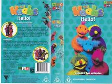 HOOBS HELLO  JIM HENSON ABC VHS VIDEO PAL~A RARE FIND MINT SEALED