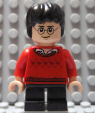 LEGO Young Harry Potter Minifig Red Sweater Flesh Skin with Black Hair and Legs