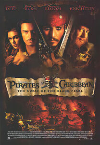 """Pirates Of The Caribbean - Movie Poster (Regular Style) (Size: 27"""" X 39"""")"""