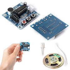 Audio Voice Sound Recorder Recording Board Module with Mic Speaker ISD1820