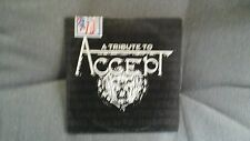 COMPILATION - A TRIBUTE TO ACCEPT (PRIMAL FEAR HAMMERFALL..) PROMO CD CARDSLEEVE