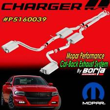 NEW Chrysler Mopar Borla Cat-Back Exhaust System Dodge Charger R/T P5160039