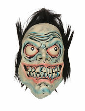 Adult Grren Manic Death Monster Mask Scary Halloween Fancy Dress Accessory