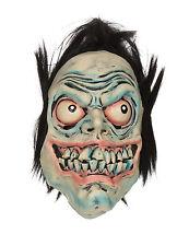 Adult Grren Manic Death Monster Mask Scary Halloween Fancy Dress Accessory
