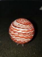 "SAMMY Sam Hogue Handmade marble 1 3/4"" multi swirl Onilnskin ECBB"