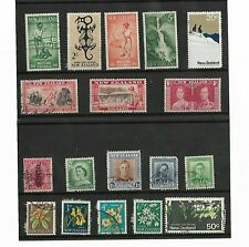 18X 1937-1970 NEW ZEALAND STAMPS