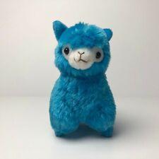 AMUSE Play! Color! Arpakasso Neon Blue (16cm) Alpacasso Alpaca Plush Japan