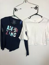 Justice, Obsess, Lot Of 4 Pieces Tees Girls 10-12 Years old Clothing, T-Shirts